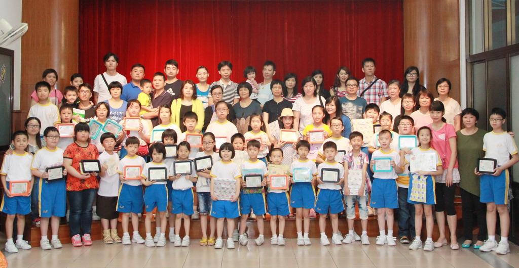 2012學年書香世家閱讀計劃頒獎典禮