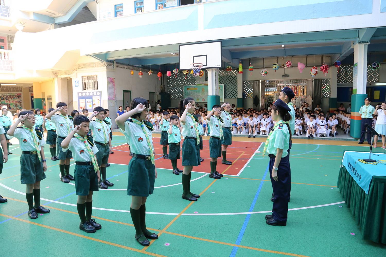2015學年童軍宣誓